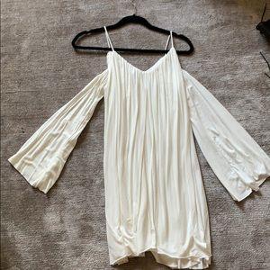 Elam Long sleeve cold shoulder dress